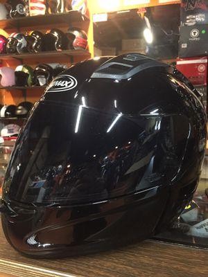 New gloss black dot motorcycle helmet $100 for Sale in Santa Fe Springs, CA