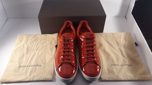 Louis vuitton red sneakers for Sale in Chicago, IL