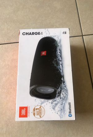 JBL CHARGE 4 WATERPROOF SUPER BASS for Sale in Long Beach, CA