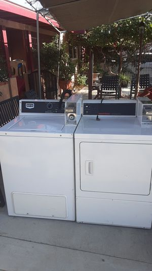 Commercial washer and and dryer Maytag and Speed Queen for Sale in Corona, CA