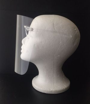 Optic face shield - clear for Sale in Ontario, CA