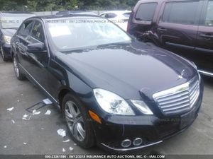 2011-2013 MERCEDES-BENZ E 350 for parts only for Sale in Miami Gardens, FL