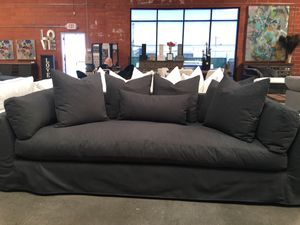 "☁️⭐️8 Foot x 45"" Deep LUXE Cloud Sofa Couch Restoration Hardware -Save 50% - $2,500 for Sale in US"