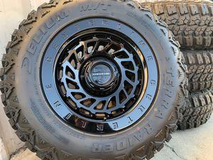 Dodge Ram 1500 Jeep Wrangler wheels Gladiator Wheels Tires Rims for Sale in Rio Linda, CA