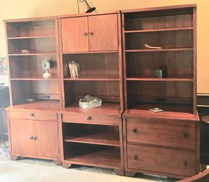 Solid wood bookshelves for Sale in Franktown, CO