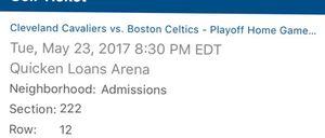 4 Cavs vs Boston tickets game 4 for Sale in Cleveland, OH
