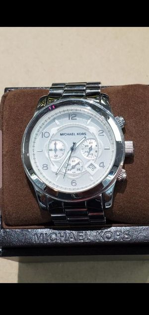 Michael Kors Runway Silver-Tone Watch for Sale in Fort Worth, TX