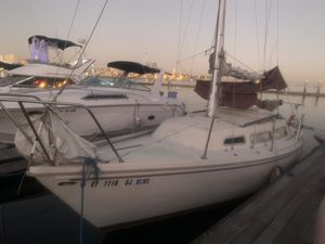 Catalina 27ft Dinette model sailing yacht will trade for Sale in Long Beach, CA
