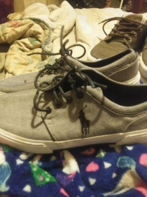 Like new pair polo by Ralph Lauren men's shose s for Sale in Murfreesboro, TN
