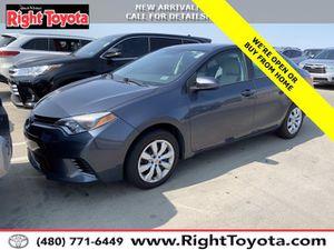 2016 Toyota Corolla for Sale in Scottsdale, AZ