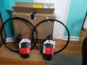 Mountain bike Mavic 29er tubeless Wheelset Origin8 & Specialized Tires for Sale in The Bronx, NY