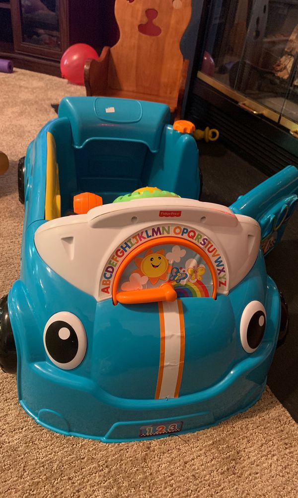 Baby/toddler learning car toy