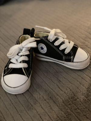 Baby converse size 2 for Sale in El Cajon, CA