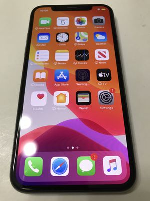 iPhone X 64GB Factory Unlocked for Sale in Gresham, OR