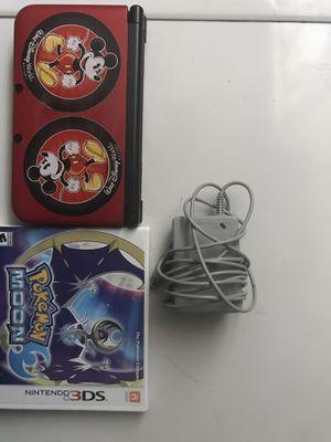 Nintendo 3DS XL W/ Pokémon Moon for Sale in Denver, CO