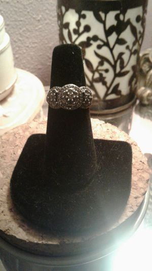 Diamond and sterling silver ring. for Sale in Phoenix, AZ