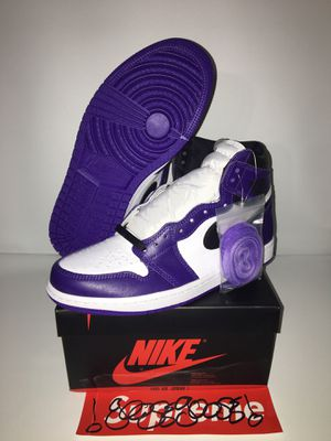 Jordan 1 retro court purple for Sale in New York, NY