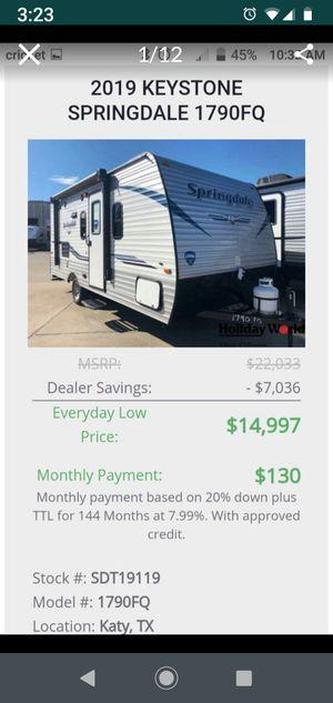 New 2019 Springdale 1790 FQ for Sale in Katy, TX