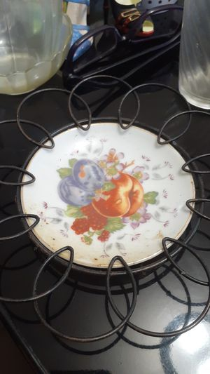 1950 Mid-Century Porcelain Cermic China Fruit Plate for Sale in Capitol Heights, MD