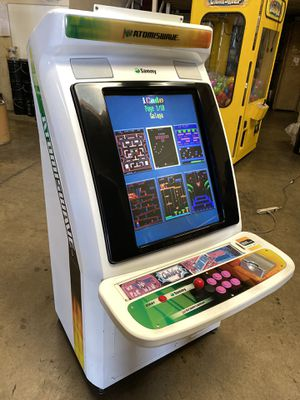 Sammy Atomiswave Candy Cabinet with 60 in 1 Multicade Arcade Video Game Machine for Sale in Chino Hills, CA