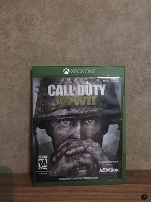 Call of duty WWII for Sale in Andrews, TX