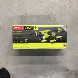 Ryobi One 18v 4 Pc Kit for Sale in Westport, MA