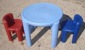 Small kids table with 2 chairs for Sale in Philadelphia, PA