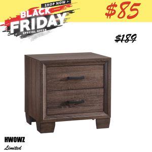 BLACK FRIDAY SPECIAL $85 - Warm Brown Wood Nightstand for Sale in El Monte, CA