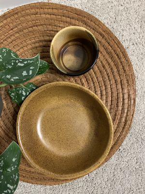 boho studio pottery bowls/cup - ceramic for Sale in Seattle, WA