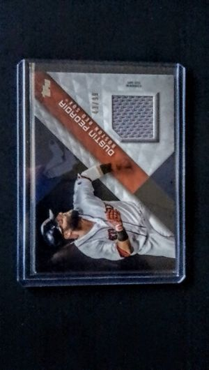 Baseball Cards -- Dustin Pedroia -- Boston Red Sox -- Relic Card for Sale in Cypress, CA