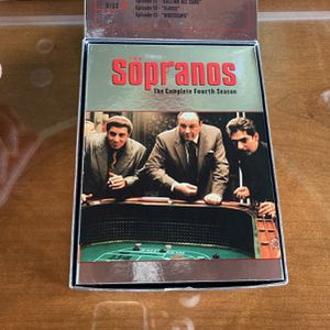 Sopranos Season 4 4 Discs for Sale in Naperville, IL