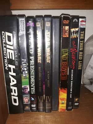 Dvds (91 titles total) for Sale in Aptos, CA