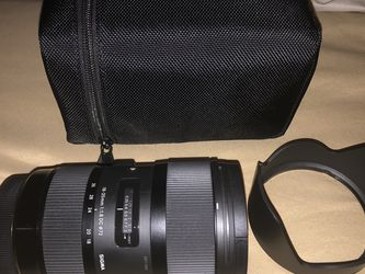 Sigma 18-35mm F/1.8 DC HSM ART Lens For Canon EF for Sale in Philadelphia,  PA