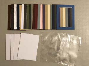 85+ Colored 5x7 Photo Mats, Backings, & Bags for Sale in Bunker Hill, WV