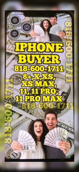 iPhone 11pro max xs max x iCloud locked new used -new iPad Pro 2020 WiFi cellular Apple Watch 5 gps nest scam Dyson hair dryer for Sale in Los Angeles, CA