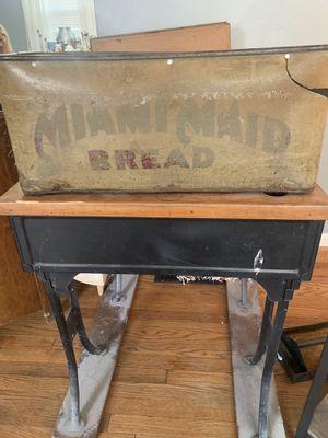 Vintage antique Miami maid bread bin for Sale in Cincinnati, OH