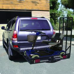 500 lbs Folding Strong Loading Ramp Wheelchair Carrier AT4621 for Sale in Whittier,  CA