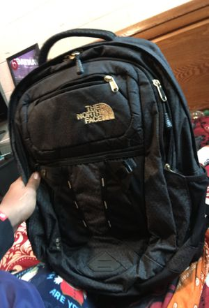 black and gold north face backpack for Sale in Richmond, VA