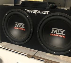 MTX 12 inches Terminator Series Subwoofers for Sale in Byron, CA