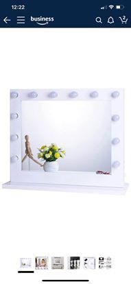 Chende Hollywood Lighted Makeup Vanity Mirror Light, Makeup Dressing Table Vanity Set Mirrors for Sale in Industry, CA