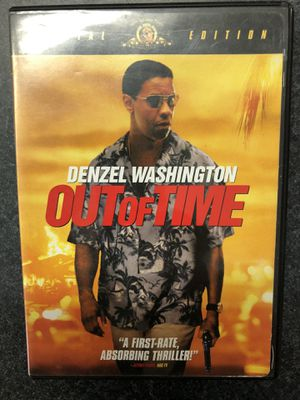 Out of Time DVD - used for Sale in Griswold, CT