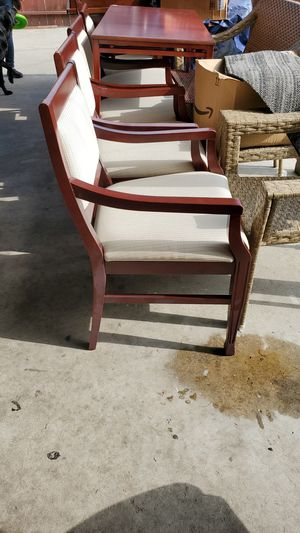 5 office chairs used for Sale in Whittier, CA