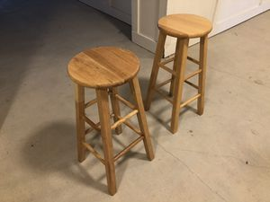 Wooden stools for Sale in Humble, TX