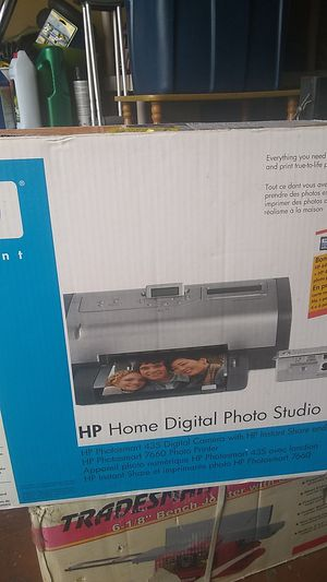 HP home digital photo studio includes camera for Sale in Port St. Lucie, FL