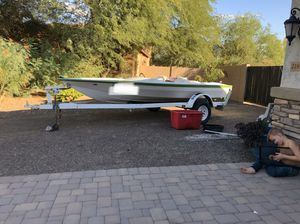1976 17' cheetah ski boat for Sale in Gilbert, AZ