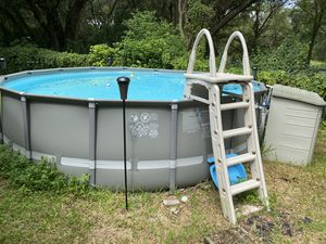 Intex above ground pool for Sale in Lutz, FL