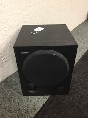 Sony Home Stereo Subwoofer for Sale in Portland, OR