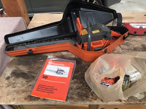 Husqvarna 50 Chainsaw for Sale in Lakewood, WA