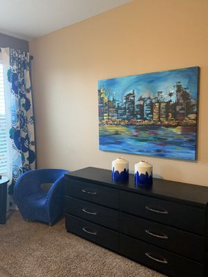 """Beautiful painted picture !! 36"""" x 48"""" for Sale in Vancouver, WA"""