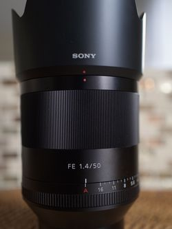 Sony 50mm Zeiss Camera Lens for Sale in Brookline,  MA